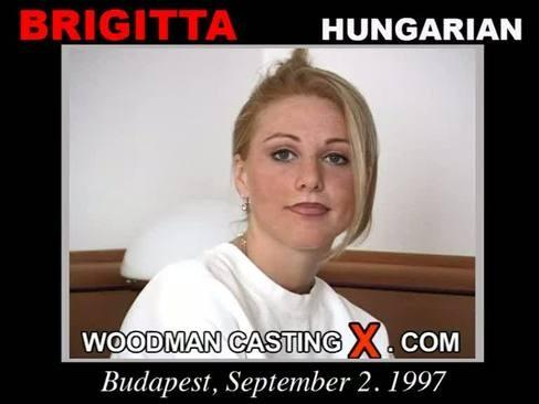 Brigitta - `Brigitta casting` - by Pierre Woodman for WOODMANCASTINGX