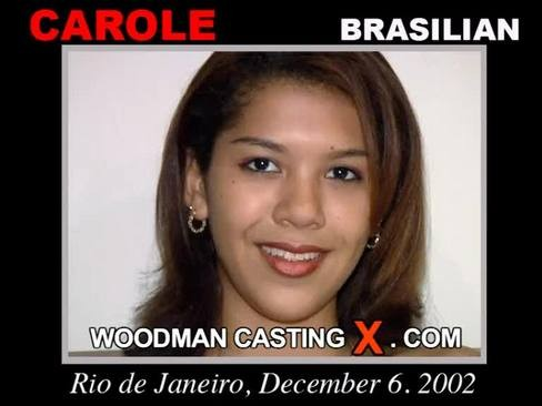 Carole - `Carole casting` - by Pierre Woodman for WOODMANCASTINGX