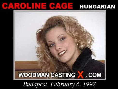 Caroline Cage - `Caroline Cage casting` - by Pierre Woodman for WOODMANCASTINGX