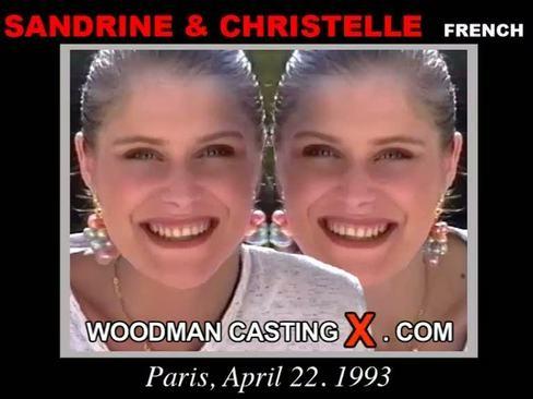 Christelle & Sandrine - `Christelle & Sandrine casting` - by Pierre Woodman for WOODMANCASTINGX