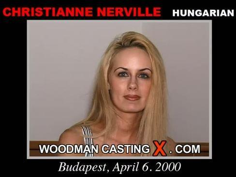 Christianne Nerville - `Christianne Nerville casting` - by Pierre Woodman for WOODMANCASTINGX