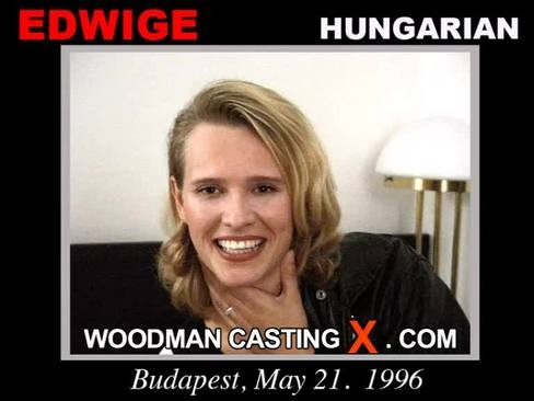 Edwige - `Edwige casting` - by Pierre Woodman for WOODMANCASTINGX