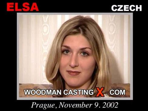 Elsa - `Elsa casting` - by Pierre Woodman for WOODMANCASTINGX