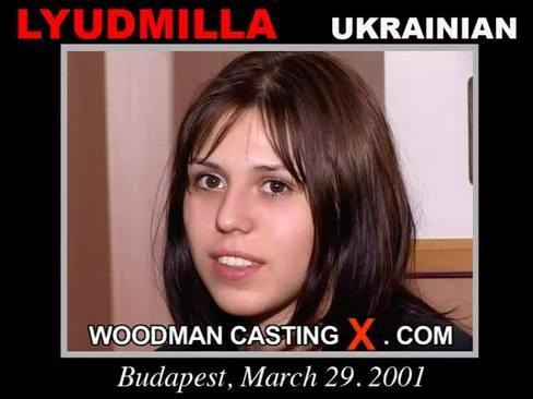 Lyudmilla - `Lyudmilla casting` - by Pierre Woodman for WOODMANCASTINGX