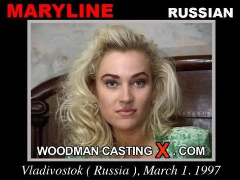Maryline - `Maryline casting` - by Pierre Woodman for WOODMANCASTINGX
