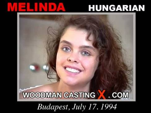 Melinda - `Melinda casting` - by Pierre Woodman for WOODMANCASTINGX