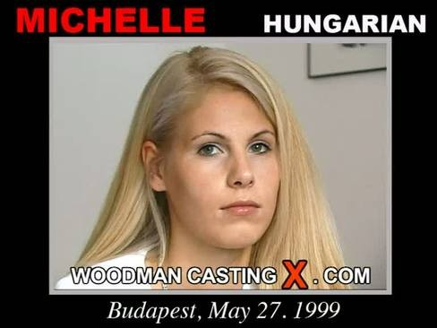 Michelle - `Michelle casting` - by Pierre Woodman for WOODMANCASTINGX