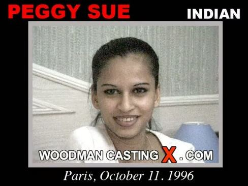 Peggy Sue - `Peggy Sue casting` - by Pierre Woodman for WOODMANCASTINGX