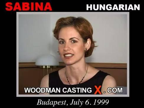 Sabina - `Sabina casting` - by Pierre Woodman for WOODMANCASTINGX