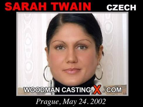 Sarah Twain - `Sarah Twain casting` - by Pierre Woodman for WOODMANCASTINGX