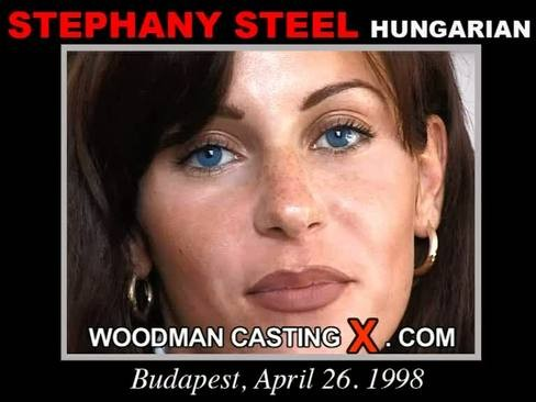Stephany Steel - `Stephany Steel casting` - by Pierre Woodman for WOODMANCASTINGX