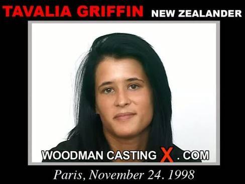 Tavalia Griffin - `Tavalia Griffin casting` - by Pierre Woodman for WOODMANCASTINGX