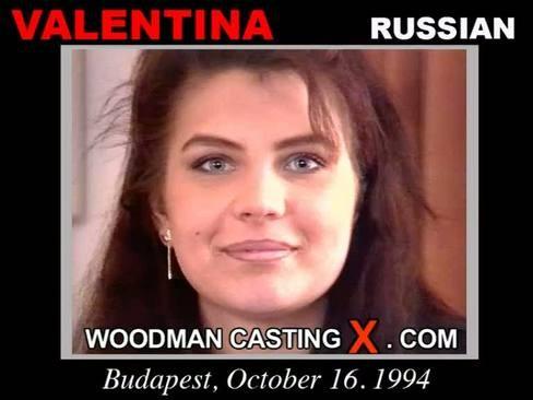 Valentina - `Valentina casting` - by Pierre Woodman for WOODMANCASTINGX