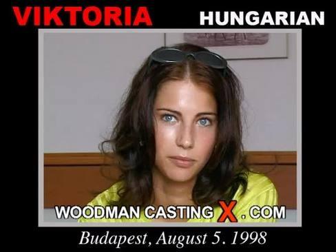 Viktoria - `Viktoria casting` - by Pierre Woodman for WOODMANCASTINGX