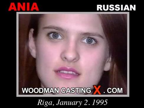 Ania - `Ania casting` - by Pierre Woodman for WOODMANCASTINGX