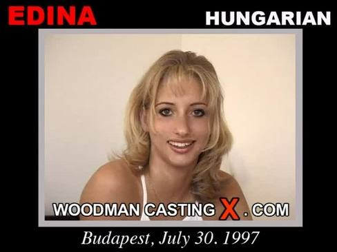 Edina - `Edina casting` - by Pierre Woodman for WOODMANCASTINGX