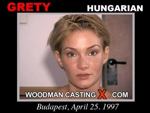 Grety - `Grety casting` - by Pierre Woodman for WOODMANCASTINGX