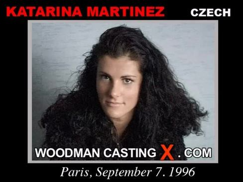 Katarina Martinez - `Katarina Martinez casting` - by Pierre Woodman for WOODMANCASTINGX