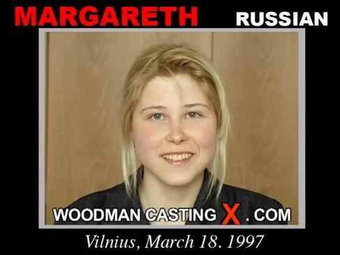 Margareth - `Margareth casting` - by Pierre Woodman for WOODMANCASTINGX