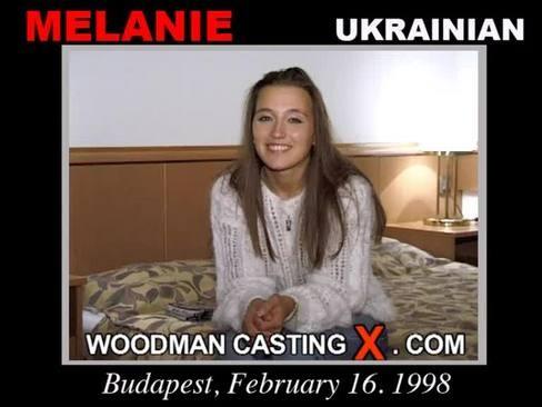 Melanie casting video from WOODMANCASTINGX by Pierre Woodman