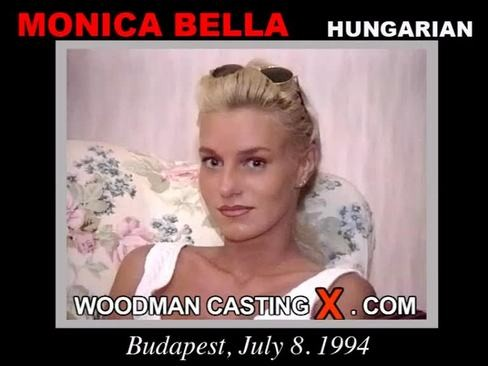 Monica Bella - `Monica Bella casting` - by Pierre Woodman for WOODMANCASTINGX