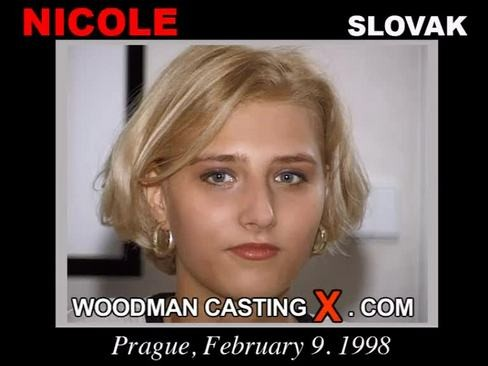 Nicole - `Nicole casting` - by Pierre Woodman for WOODMANCASTINGX