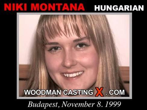 Niki Montana - `Niki Montana casting` - by Pierre Woodman for WOODMANCASTINGX