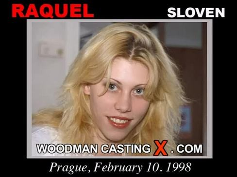 Raquel - `Raquel casting` - by Pierre Woodman for WOODMANCASTINGX