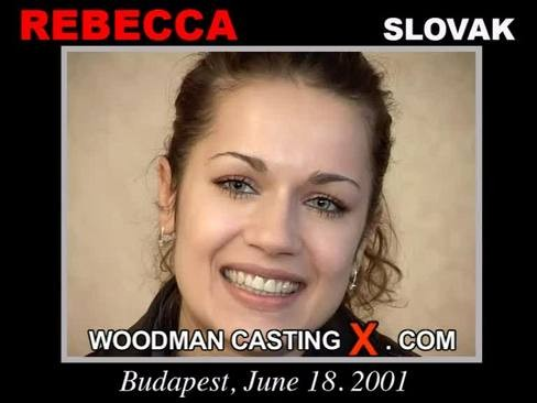 Rebecca - `Rebecca casting` - by Pierre Woodman for WOODMANCASTINGX