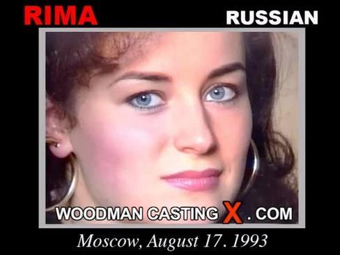 Rima - `Rima casting` - by Pierre Woodman for WOODMANCASTINGX