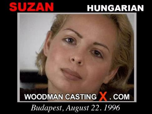 Suzan - `Suzan casting` - by Pierre Woodman for WOODMANCASTINGX