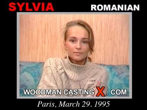 Sylvia - `Sylvia casting` - by Pierre Woodman for WOODMANCASTINGX