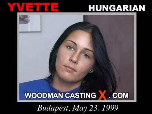 Yvette - `Yvette casting` - by Pierre Woodman for WOODMANCASTINGX