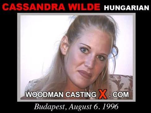 Cassandra Wilde - `Cassandra Wilde casting` - by Pierre Woodman for WOODMANCASTINGX