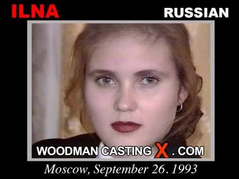 Ilna - `Ilna casting` - by Pierre Woodman for WOODMANCASTINGX