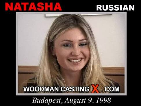 Natasha - `Natasha casting` - by Pierre Woodman for WOODMANCASTINGX