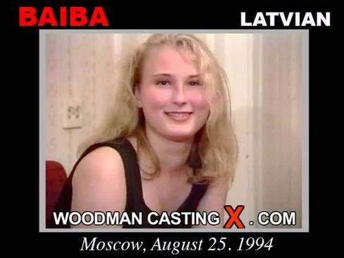 Baiba - `Baiba casting` - by Pierre Woodman for WOODMANCASTINGX