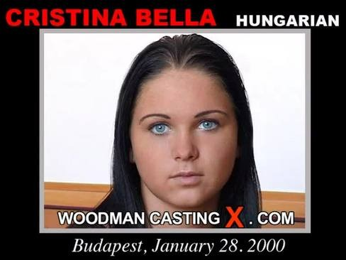 Christina Bella - `Christina Bella casting` - by Pierre Woodman for WOODMANCASTINGX