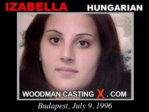 Izabella - `Izabella casting` - by Pierre Woodman for WOODMANCASTINGX