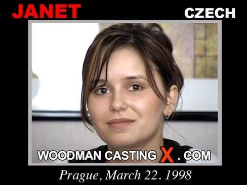Janet - `Janet casting` - by Pierre Woodman for WOODMANCASTINGX