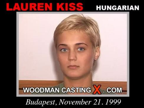 Lauren Kiss - `Lauren Kiss casting` - by Pierre Woodman for WOODMANCASTINGX