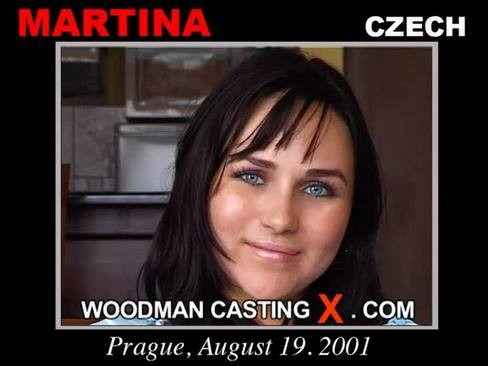 Martina - `Martina casting` - by Pierre Woodman for WOODMANCASTINGX