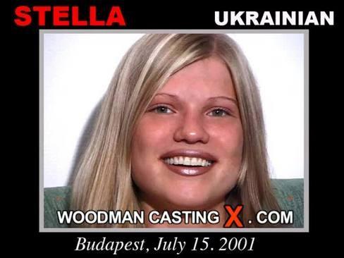 Stella - `Stella casting` - by Pierre Woodman for WOODMANCASTINGX
