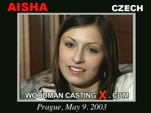 Aisha - `Aisha casting` - by Pierre Woodman for WOODMANCASTINGX