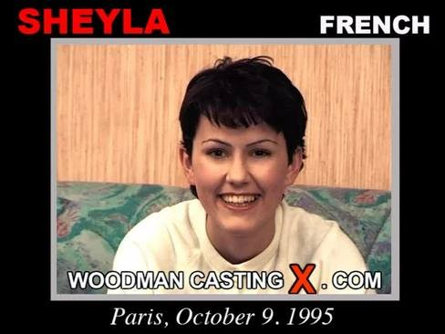 Sheyla - `Sheyla casting` - by Pierre Woodman for WOODMANCASTINGX