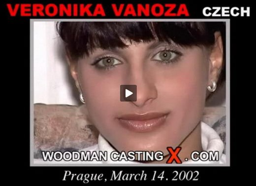 Veronika Vanoza - `Veronika Vanoza casting` - by Pierre Woodman for WOODMANCASTINGX