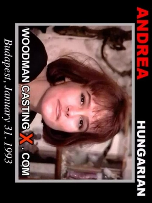 Andrea - `casting` - by Pierre Woodman for WOODMANCASTINGX