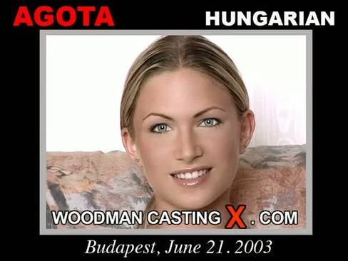 Agota - `Agota casting` - by Pierre Woodman for WOODMANCASTINGX