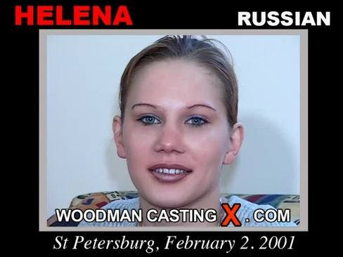 Helena - `Helena casting` - by Pierre Woodman for WOODMANCASTINGX