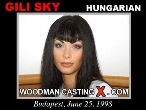 Gili Sky - `Gili Sky casting` - by Pierre Woodman for WOODMANCASTINGX